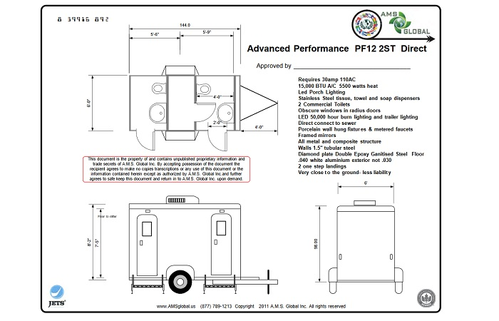 APF Restroom Trailer Plans