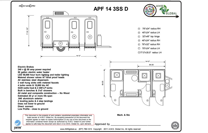 APF Shower Trailer Plans