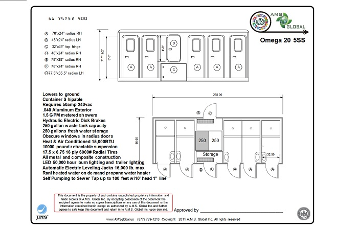 Portfolio OMEGA Shower Trailer Plans 700x450