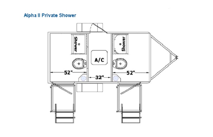Portfolio ALPHA Shower Trailers